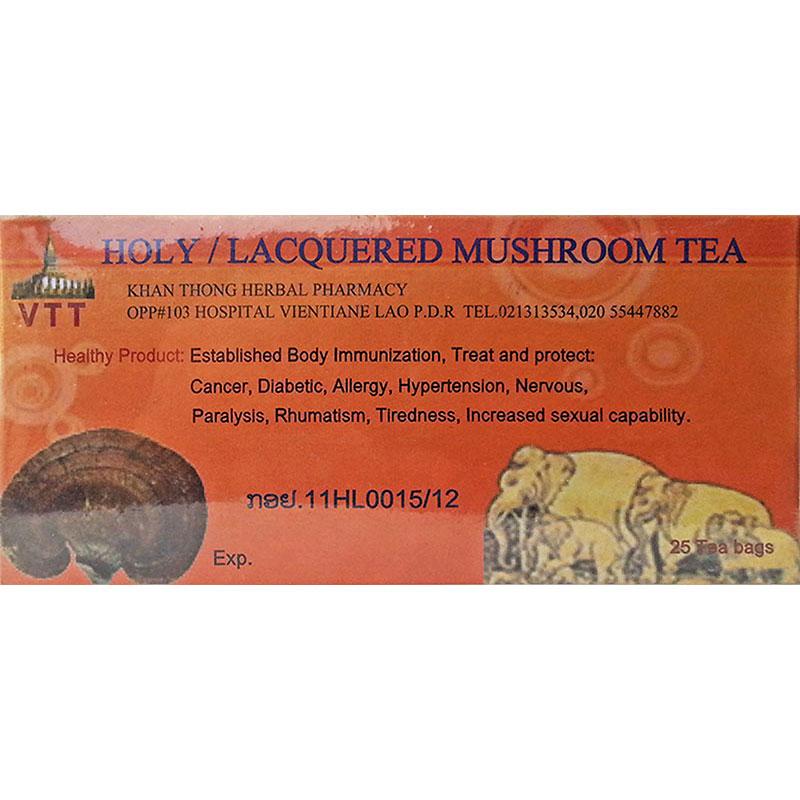 Reishi Mushroom Tea for Flu, Kidney, Cancer, Liver, Cholesterol